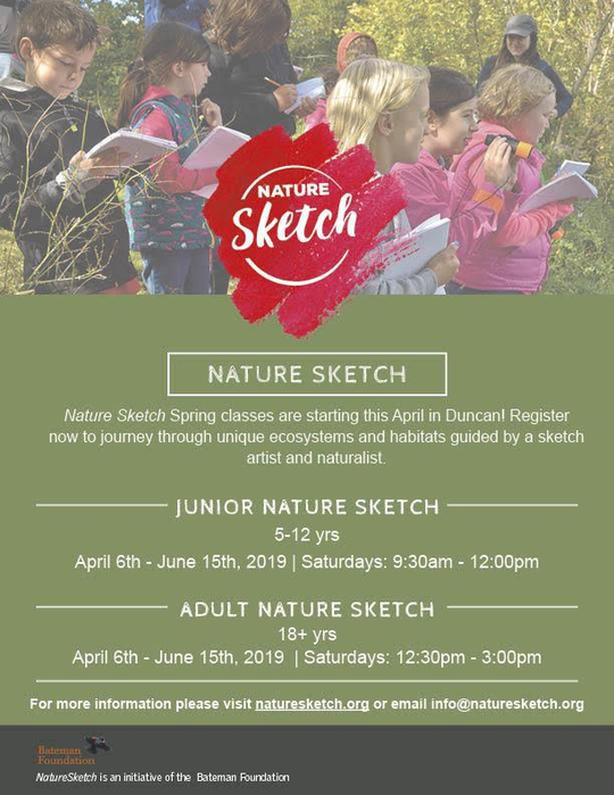 Robert Bateman Nature Sketch Club
