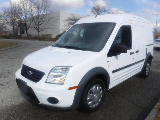 2013 Ford Transit Connect Cargo Van XLT with Side and Rear Door Glass