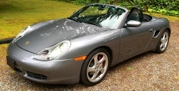 2002 Porshe Boxster S- Super low km's Great Shape!