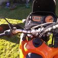 KTM 640 Adventure dualsport motorcycle
