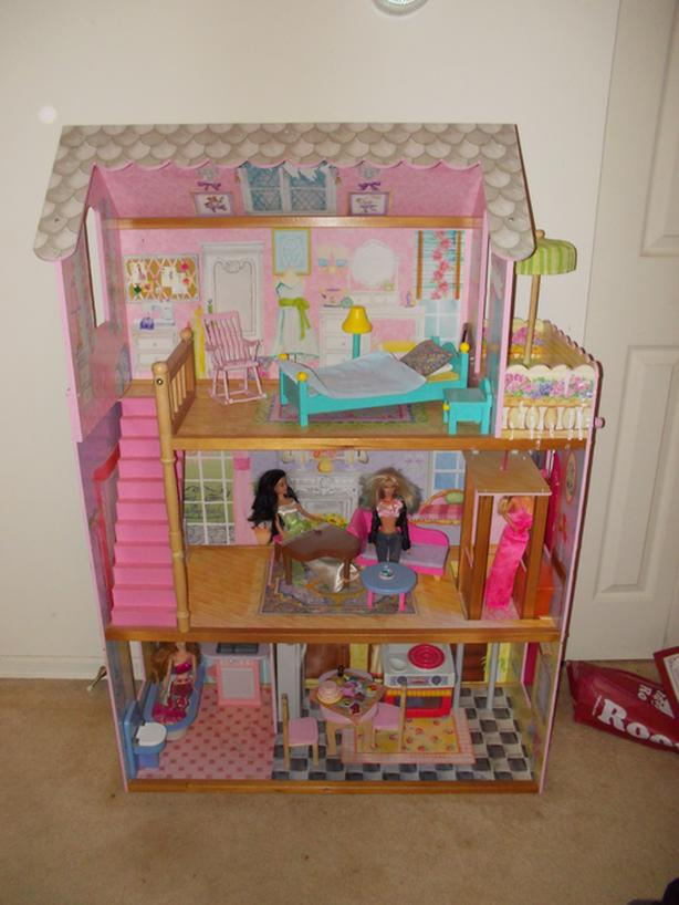  Log In needed $50 · 4 Foot Tall Barbie Doll House With Elevator