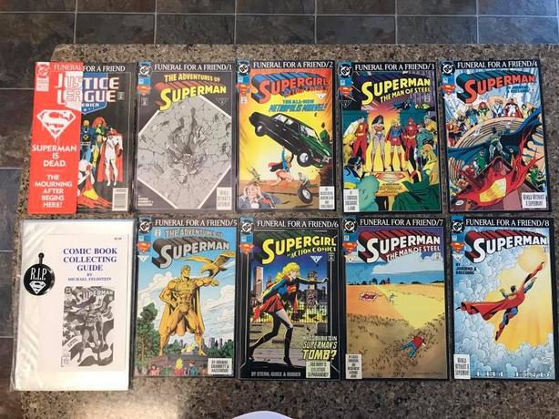 Vintage - Superman Comic Book Sets