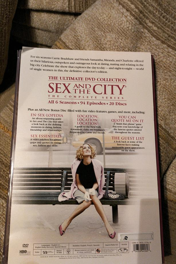 SEX in the city box set