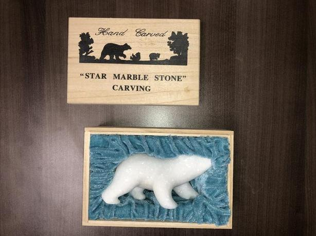 Star Marble Polar Bear