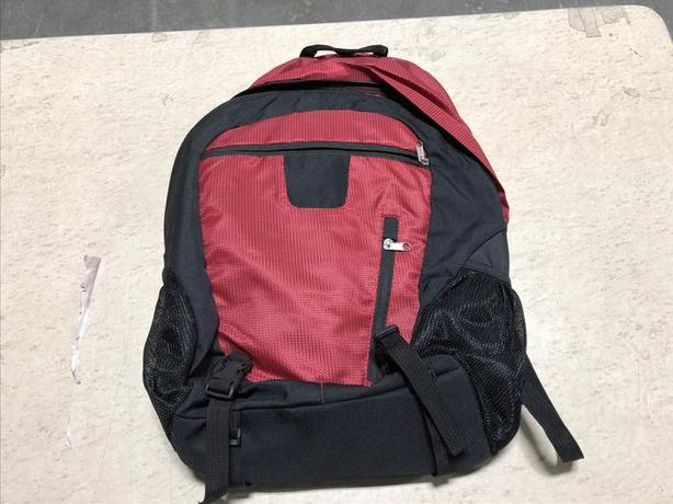 Small backpack. Red