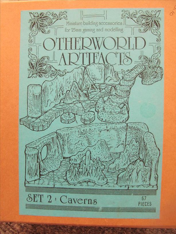 Otherworld Artifacts Set 2: Caverns. 25mm Minature Gaming Building Accessories