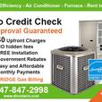 AC - Furnace - Rent to Own - NO Credit Check - FREE Installation
