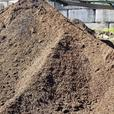 Matured cow manure soil product for landscape and garden