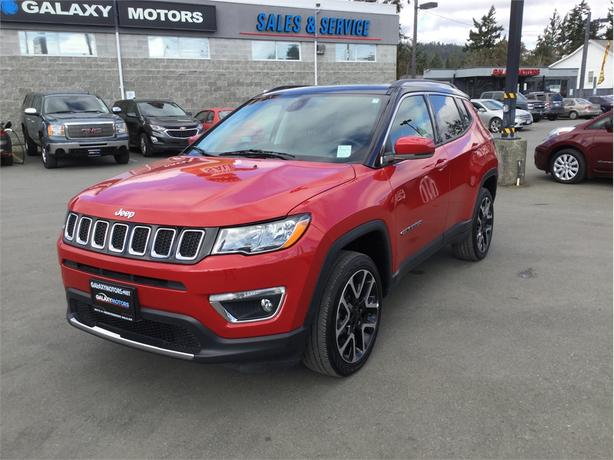 2018 Jeep Compass LIMITED - NAV 4WD Bluetooth Heated Seats