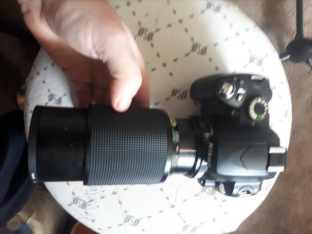 NIKON DS60 comes with VIVATOR MACRO FOCUSING ZOOM LENS