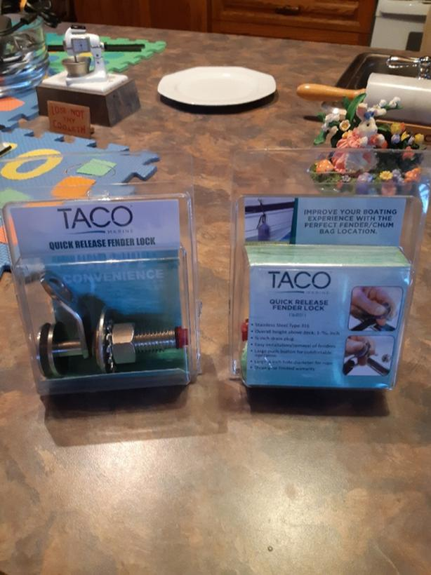 Taco Quick Release Fender Lock F16-0151-1