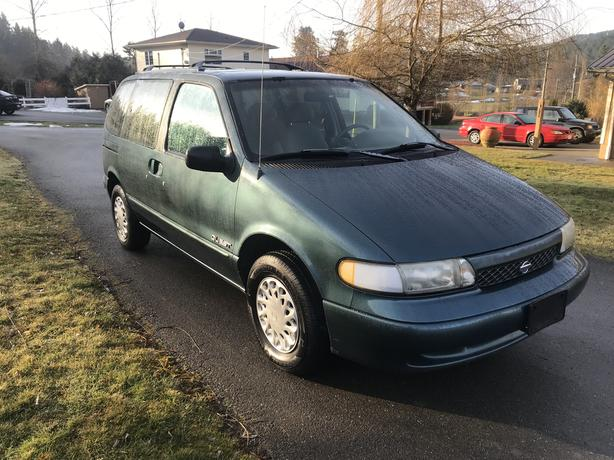 1996 Nissan Quest - Good Cheap Van!