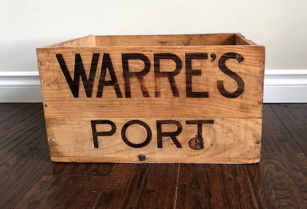 Wooden Crate - WARRE'S PORT - vintage wine case