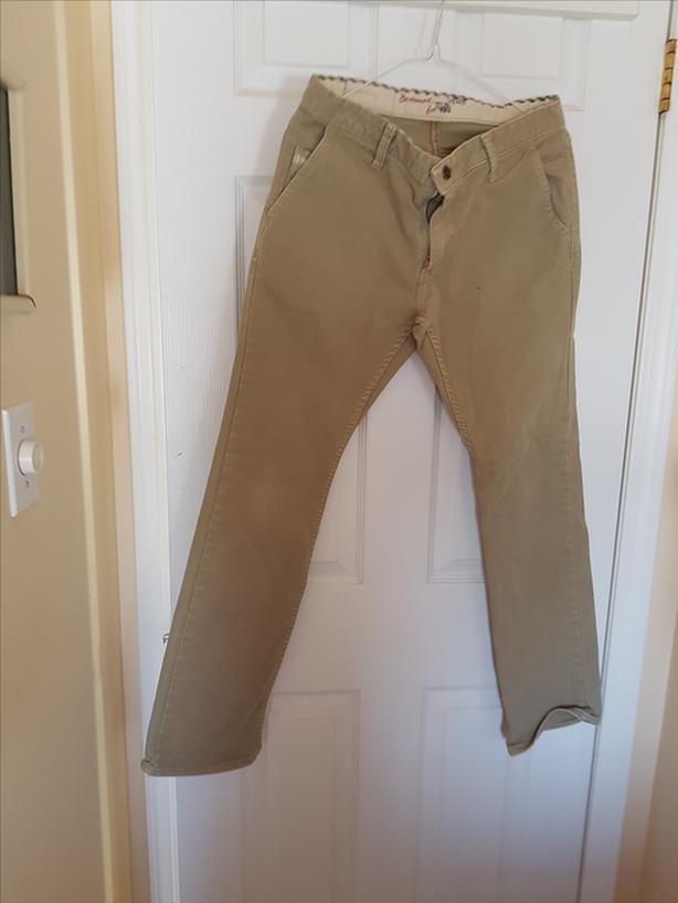Vans Beige Jeans (Size 30)