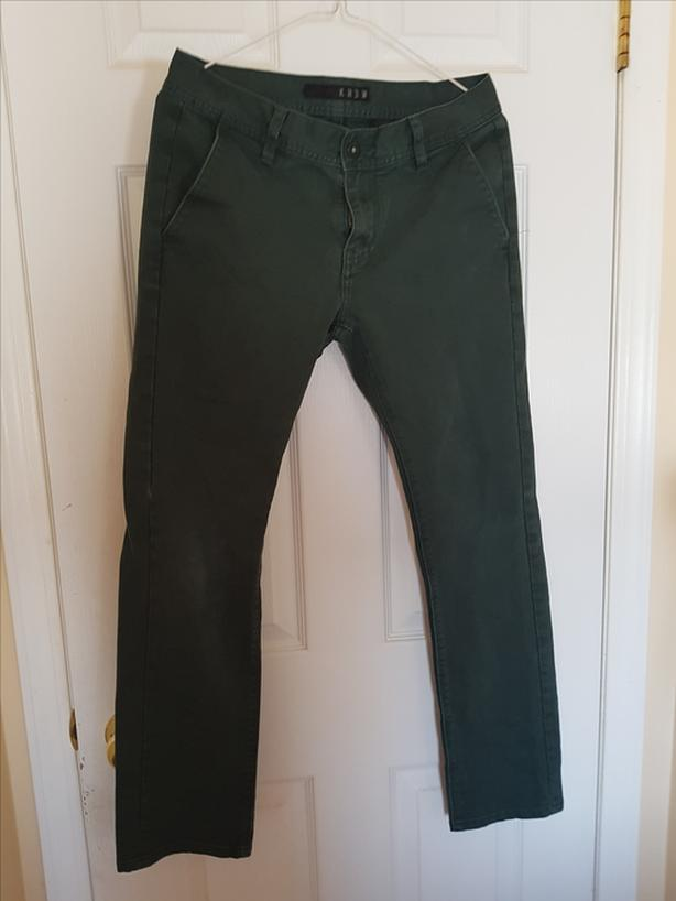 Krew Green Pants (Size 30W)