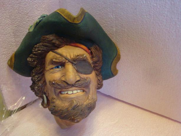 SIR HENRY MORGAN BOSSONS HEAD 1982