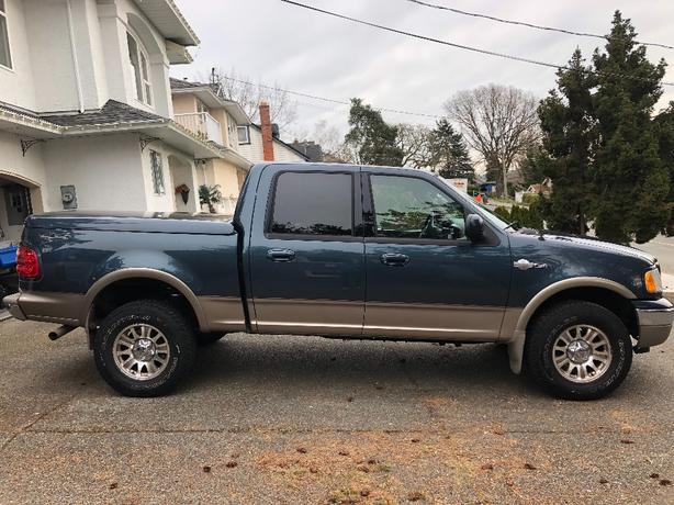 ford f150 4x4 king ranch 2003