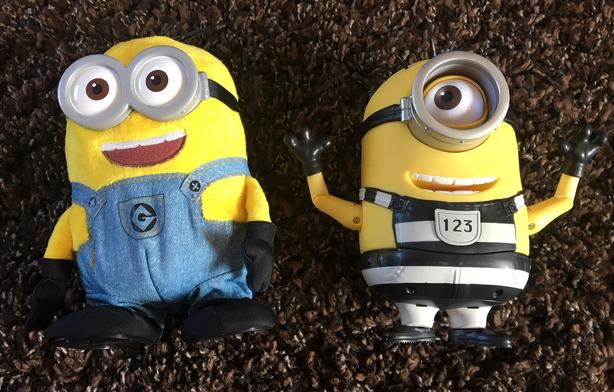 Despicable Me Animated Minion dolls