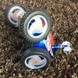 Geospace Remote Contolled Stunt Robocar JR