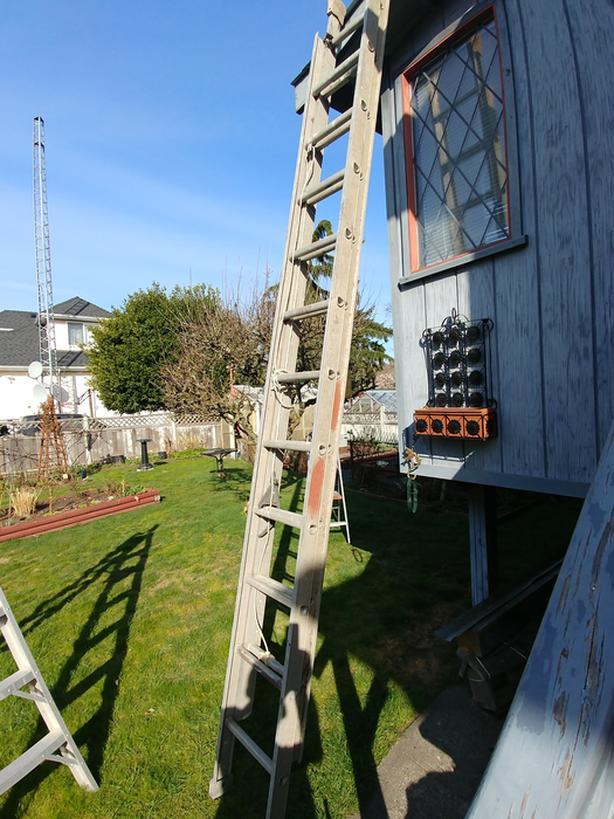 22' aluminium exstention ladder
