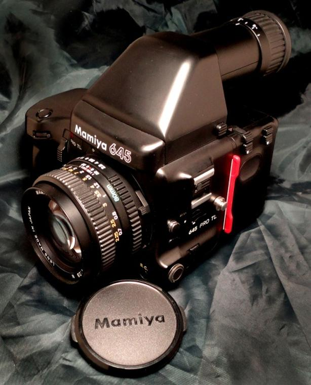 Mamiya 645 Pro TL Medium Format SLR Film Camera &