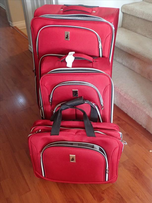 2e333fba3 3-piece set of London Fog Coventry Luggage West Shore: Langford ...