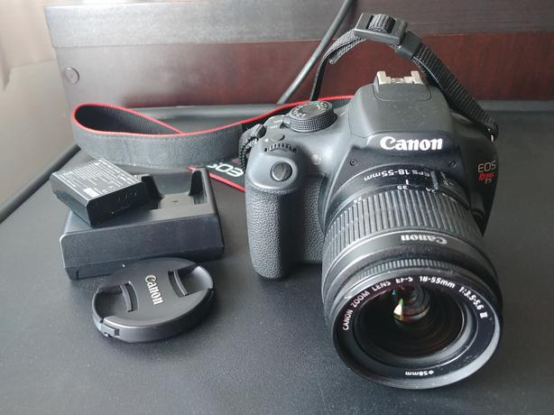 Canon T5 with 18-55 mm Lens