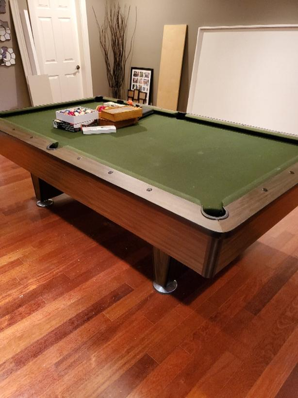 Super Log In Needed 750 56X100 Pool Table 1 Peice Slate Top Good Condition Beutiful Home Inspiration Xortanetmahrainfo
