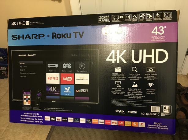 """43"""" smart TV"""