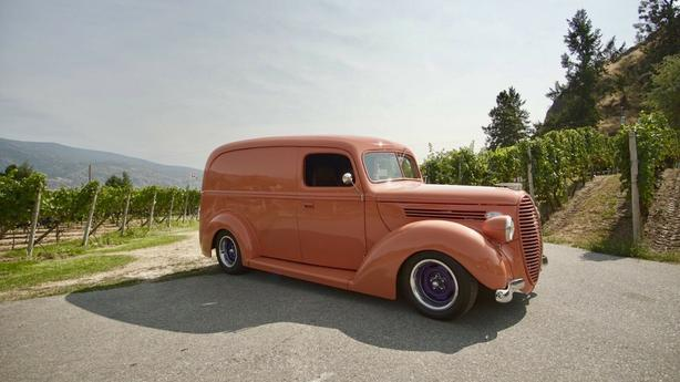 1938 Ford Panel Delivery Hot Rod