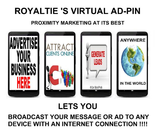 .......ROYALTIE'S VIRTUAL AD-PIN....... SIMPLY AMAZING........CHECK IT OUT
