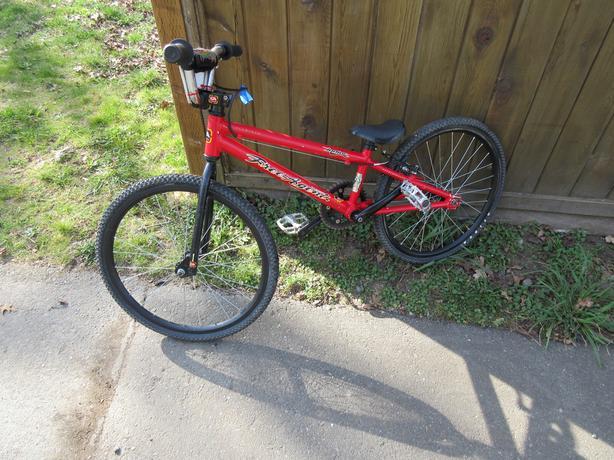 Junior BMX race bike- 20 inch wheel