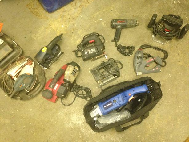 $10 each - Remaining Power Tools...
