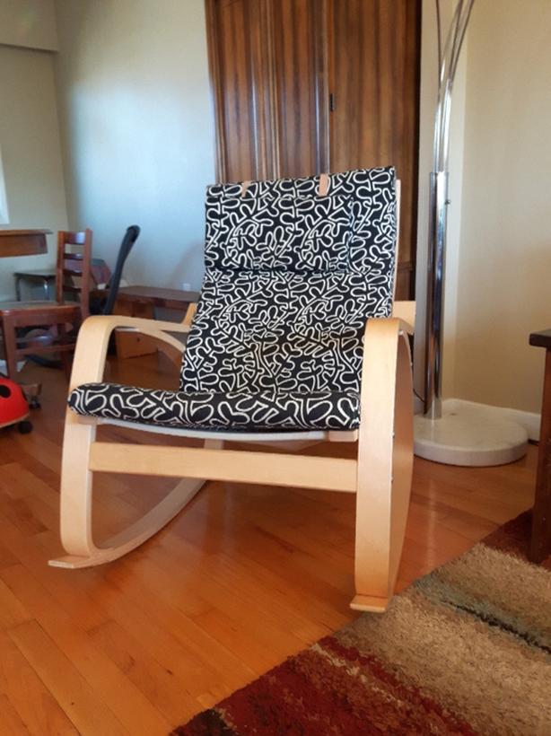 cheap for discount 18e10 b8011 Ikea poang rocking chair Victoria City, Victoria