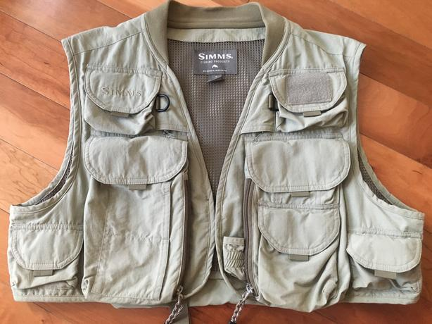 Simms Fly Fishing Vest.  (price lowered)