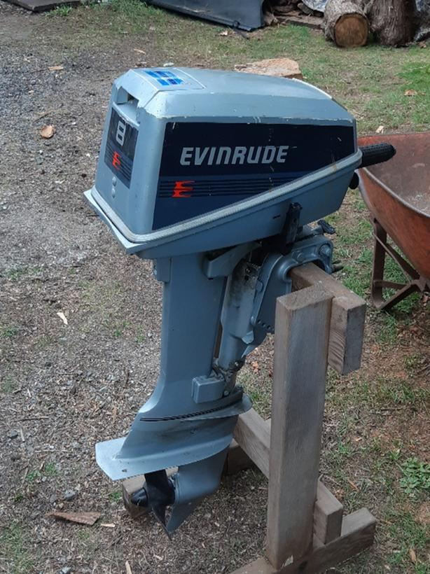 8 hp Evinrude