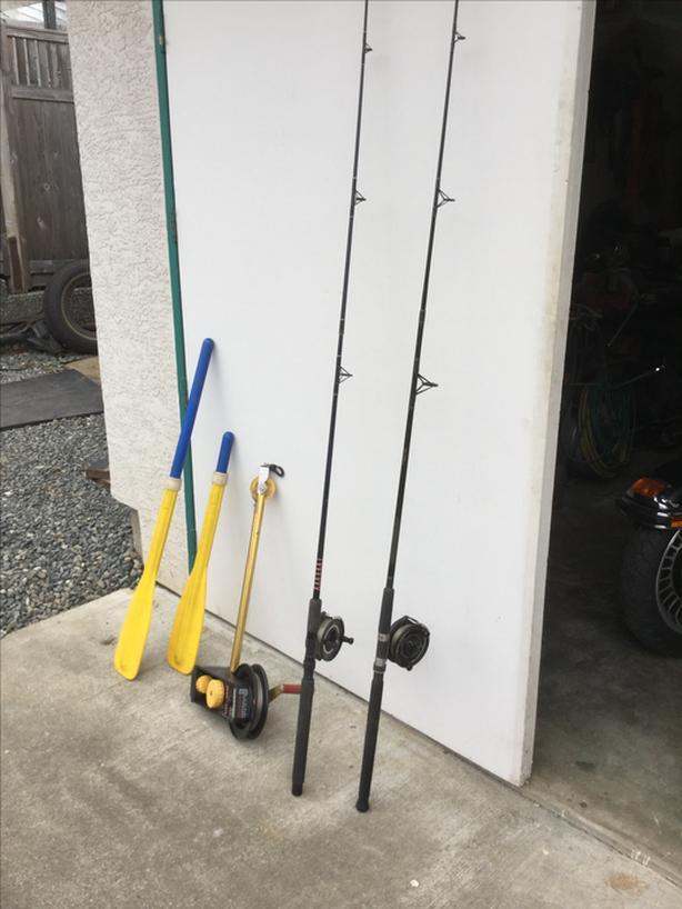 Fishing rods & reels/extendable oars