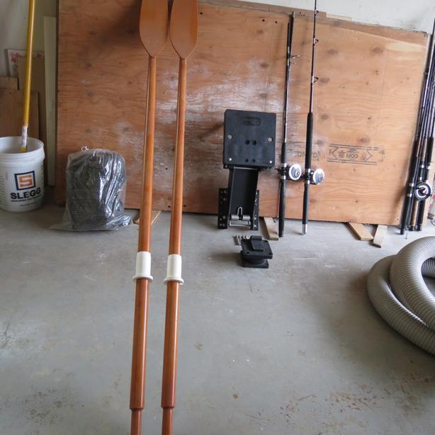 New Spruce Spoon Oars