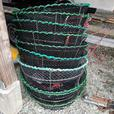 Nesting Stainless Prawn Traps x 10