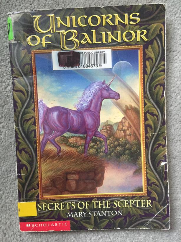 Secrets of the Scepter Unicorns of Balinor