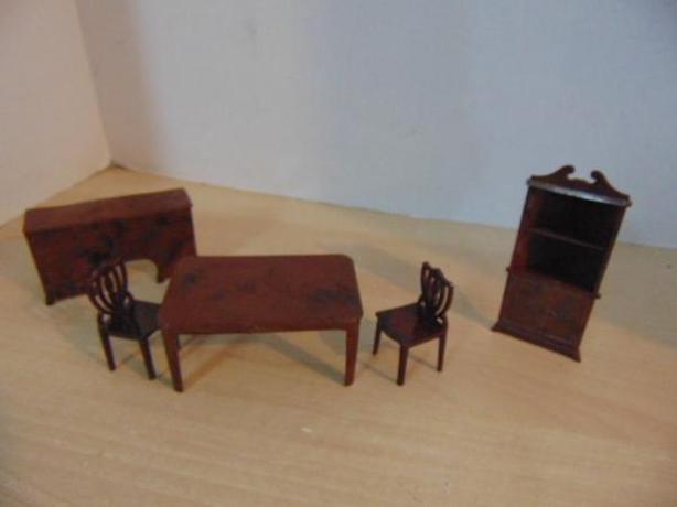 Dollhouse Vintage Furniture Renewel Ideal Victorian Victoria City