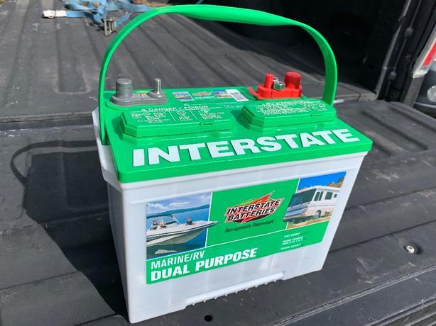 Interstate deep cycle battery brand new Central Nanaimo, Nanaimo