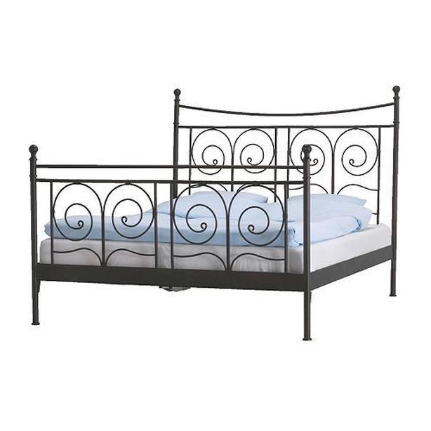 Ikea Noresund Metal Bed Frame Black Queen Vancouver City Vancouver