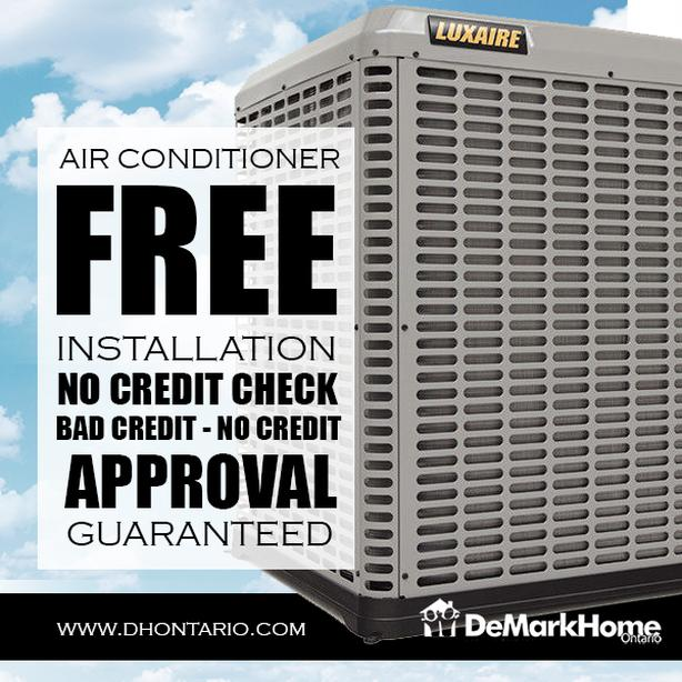 Air Conditioner - Furnace - Rent to Own - NO Credit Check - $0 Down