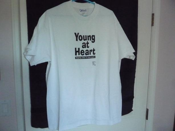 New Novelty T Shirt Size Large