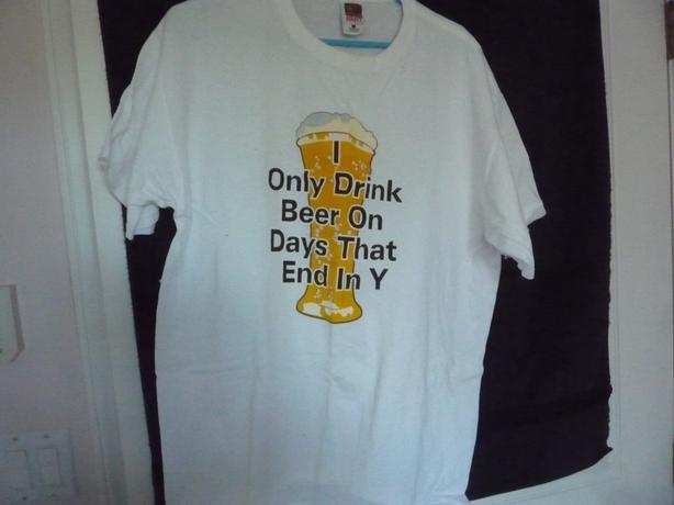 Novelty T Shirt Size Large