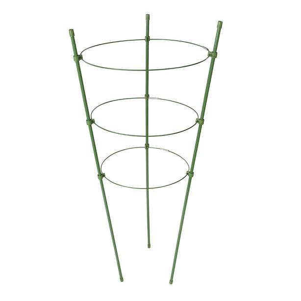 Climbing Plant Grow Support Ring Folding Trellis Cage