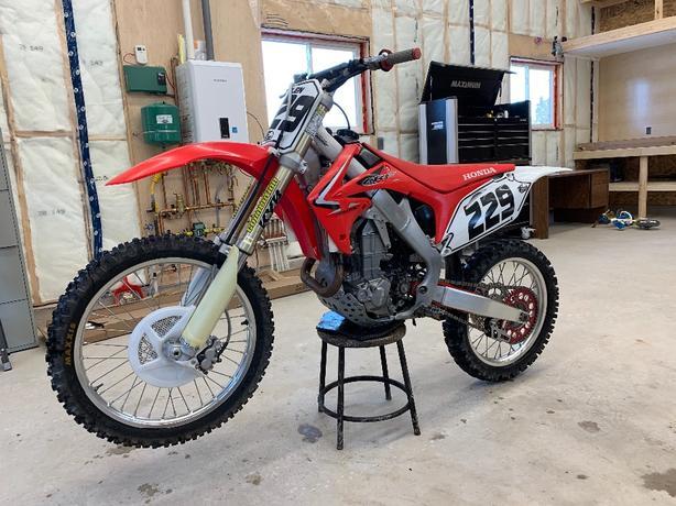 09 Honda CRF 450