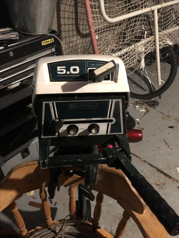 5 hp Ted Williams outboard