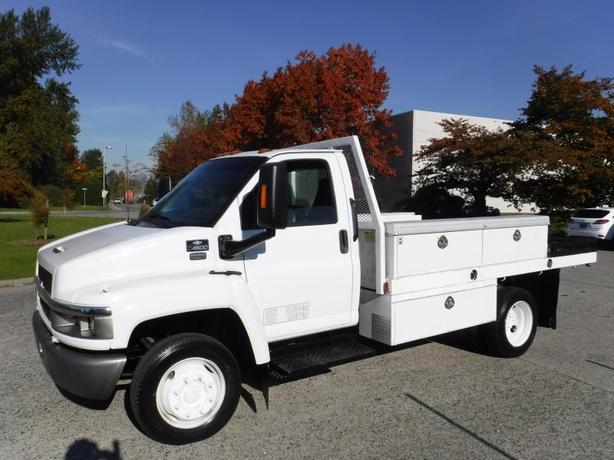 2004 Chevrolet C4500 12 Foot Flat Deck Service Truck Diesel Dually